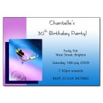 Martini Party Invitations