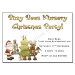 7 Santa & Rudolph - Christmas Party Invitations