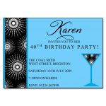Cocktail Magic Party Invitations