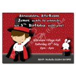8 Magic - childrens party invitation