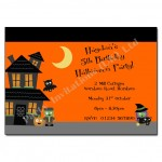 Frankenstein Halloween Party Invitations