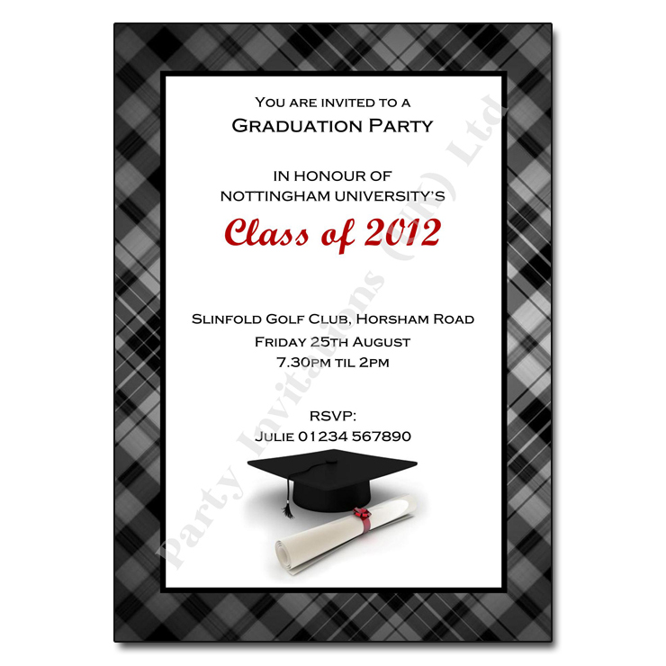 Graduation Party Invitations | The Invitation Boutique