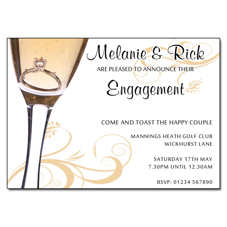Proposal Engagement Invitation – Party Proposal