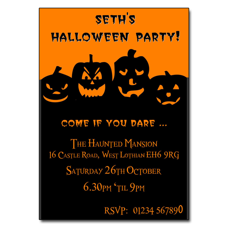 Halloween Costume Party Invitations and get inspiration to create nice invitation ideas