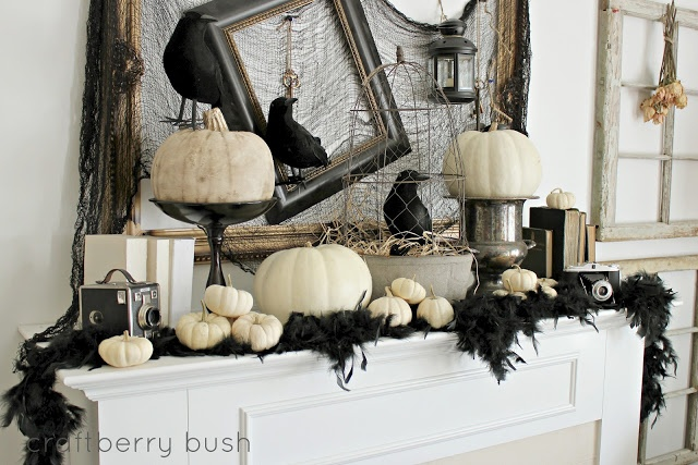 How to make your halloween party vintage themed Vintage halloween decorations uk