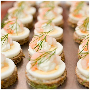 Delicious ideas for christmas party food party for How to make canape cases