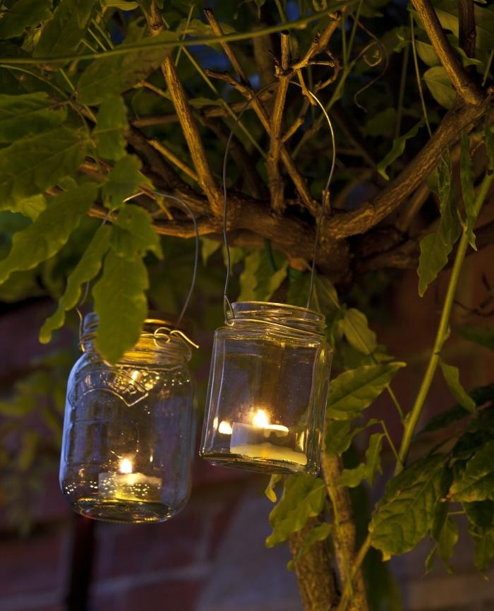 Vintage Tea Light Jars